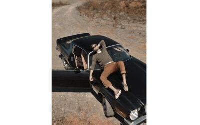 Идеи для фото: мужская фотосессия с машиной в Харькове