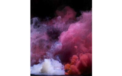 Необычные фотосессии с цветным дымом